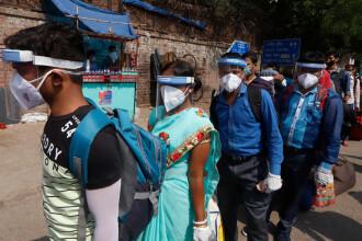 Coronavirusul face ravagii în Brazilia și India. Milioane de oameni s-au infectat