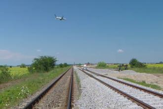 Calea ferată Gara de Nord - Otopeni e aproape gata. Cât va dura drumul cu trenul