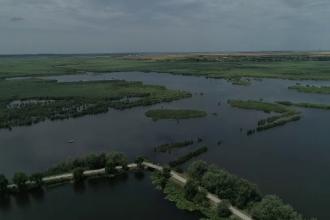 Cea mai tânără deltă a Europei se află în România. Tot mai mulți bucureșteni o vizitează