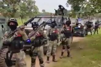 VIDEO. Traficanții din Mexic l-au sfidat pe președinte. Trupe înarmate strigă numele unui șef de cartel