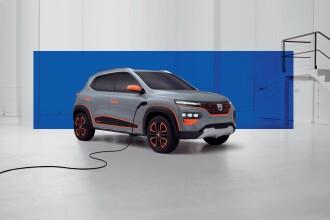 Renault prezintă Dacia Spring, primul model 100% electric al gamei. Ce autonomie are