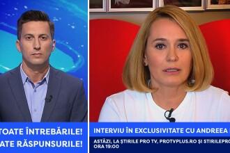 Ce se întâmplă acum cu Andreea Esca: toate întrebările, toate răspunsurile. Interviu la Ştirile ProTV de la ora 19:00