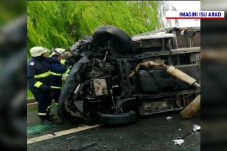 Accident cu șapte victime la Vama Nădlac. Printre ele, și trei copii