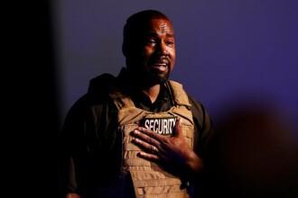 """Kanye West, în lacrimi la primul miting electoral. """"Aproape mi-am ucis fiica"""""""