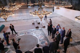 Mozaicurile creștine din Sfânta Sofia vor fi acoperite cu draperii sau cu lasere în timpul rugăciunilor musulmane