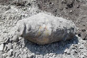 Bombă de 200 de kilograme, găsită lângă un complex rezidențial din Ploiești