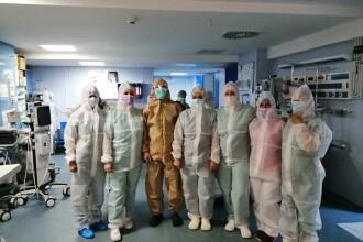 Cadrele medicale din Focșani primesc titlul de luptători în linia întâi în lupta împotriva coronavirusului
