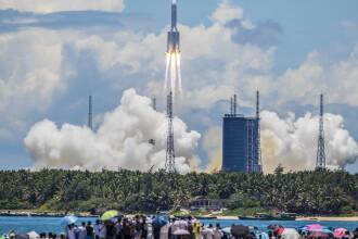 VIDEO: Misiunea Tianwen-1. China a lansat cu succes prima misiune spre Marte