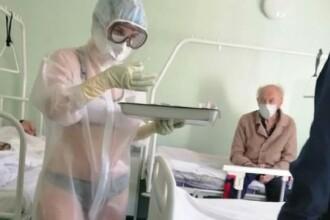 O mai tineti minte pe asistenta care trata pacientii COVID-19 in lenjerie intima? Ce s-a intamplat cu ea e uluitor