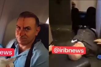 VIDEO. Pasageri răniți la bordul unui avion de linie iranian. Acuzații la adresa Israelului
