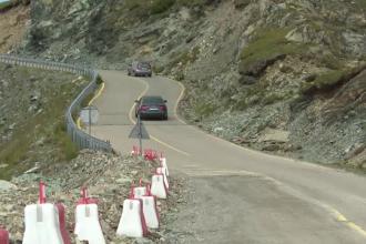 Cea mai înaltă șosea din România este de 12 ani un mare șantier. Turiștii se tem să treacă pe aici