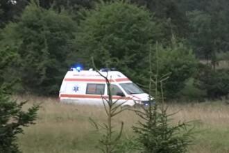 Caz tragic în Câmpulung Muscel. O femeie și-a văzut soțul și copilul uciși de trăznet