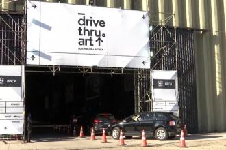 Orașul brazilian Sao Paulo a organizat o galerie de artă drive-through