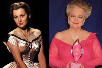 """A murit actriţa Olivia de Havilland, cunoscută din filmul """"Pe aripile vântului"""". Avea 104 ani"""