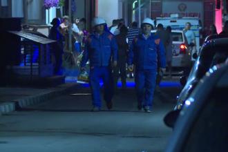 Explozie într-un bloc din Popești-Leordeni, duminică seară. Proprietarul unui apartament, rănit