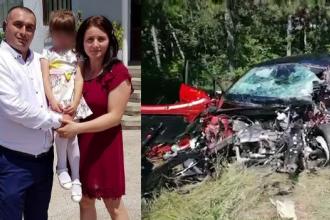 O familie a fost spulberată lângă Craiova de un șofer care a vrut să se sinucidă