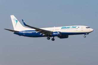 Blue Air anunţă zboruri directe între Bucureşti Otopeni şi Paris Charles de Gaulle, din 18 decembrie