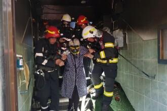 Explozie într-un bloc din Capitală. Mai multe persoane au fost evacuate