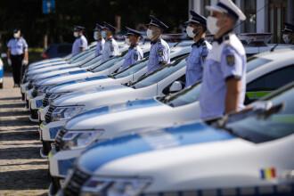 Prezentarea noilor achiziții pentru polițiști, care le vor îmbunătăți condițiile de muncă