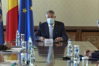 La Palatul Cotroceni are loc o nouă ședință privind gestionarea epidemiei COVID-19