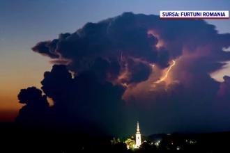 Furtuni puternice în nordul Moldovei. Pagube uriașe, provocate în doar zece minute