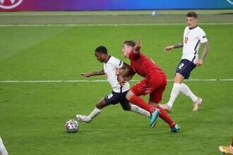 EURO 2020: Federaţia engleză, amendată de UEFA cu 30.000 de euro pentru incidentele de la semifinala cu Danemarca