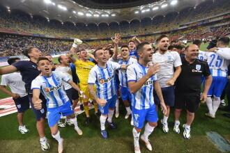 Universitatea Craiova a câștigat în premieră Supercupa României, după 4-2 cu CFR Cluj la loviturile de departajare