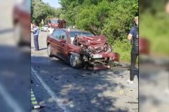 Accident provocat de un șofer de 73 de ani în Dâmbovița, după ce a pierdut controlul volanului