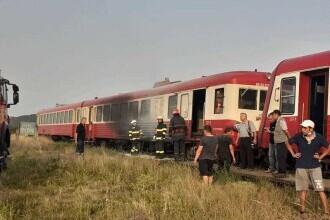 Un incendiu a izbucnit la un tren cu două vagoane aflat în Halta Seleuş din judeţul Arad. Pasagerii s-au autoevacuat