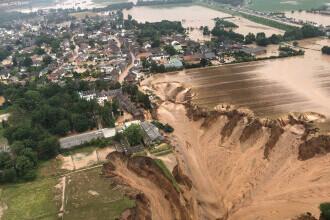 Imagini șocante după o alunecare de teren, în Germania. Mai mulți oameni au murit. FOTO și VIDEO
