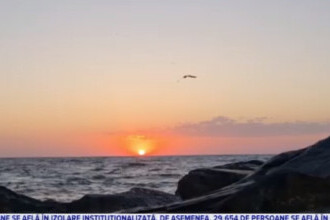 Spectacolul naturii pe litoral. Răsărit impresionant la Marea Neagră