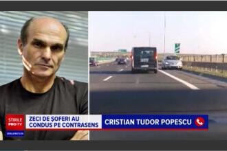 """CTP, despre șoferii pe contrasens: """"Prima regulă e să fii șmecher natural, spre deosebire de ceilalți, care sunt fraieri"""""""