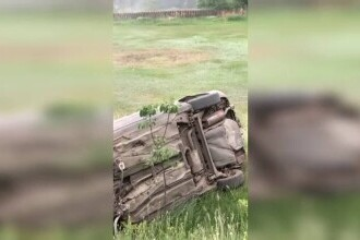 Tânărul de 19 ani din Galați, care s-a răsturnat cu mașina și a fugit de la locul accidentului, arestat preventiv