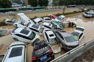 Cel puţin 25 de morţi într-o provincie din China, afectată de precipitaţii văzute