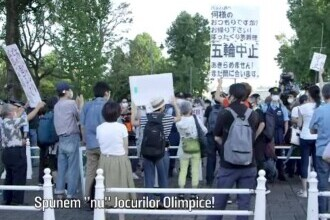 Japonezii cer anularea Jocurilor Olimpice, pe fondul creșterii cazurilor de COVID