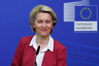Preşedinta Comisiei Europene Ursula von der Leyen vizitează luni România pentru a prezenta evaluarea PNRR