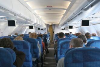 Un avion a aterizat de urgenta pentru ca un pasager s-a dezbracat complet!