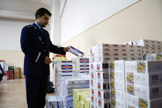 Captura uriasa in portul Agigea: un milion de pachete de tigari confiscate
