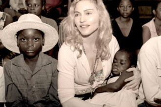 Madonna are voie sa o infieze pe fetita din Malawi!