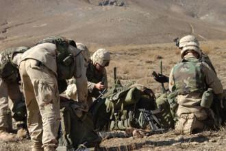 Baza militara romana din Afganistan, atacata! Doi militari au fost raniti!