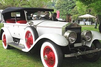 Rolls Royce-ul din 1925, care atinge 100 km/h, vedeta expozitiei de la Cluj