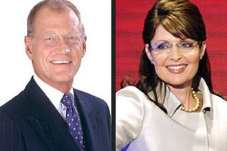 David Letterman i-a cerut scuze lui Palin dupa ce-a facut o gluma porcoasa