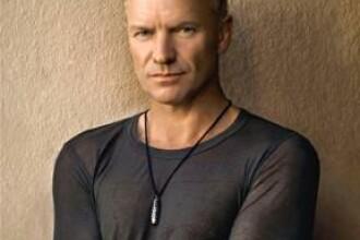 Sting canta cu live band si orchestra simfonica pe 6 iunie, la Bucuresti