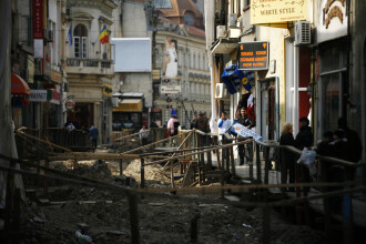 Groapa de gunoi a Bucurestiului: centrul istoric!