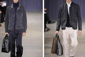 Cea mai recenta colectie Louis Vuitton s-a inspirat din costumul de curier