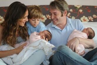 Cuplul Sarah Jessica Parker-Mathew Broderick si-a prezentat gemenele