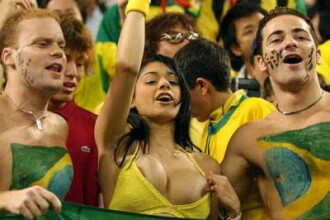 Fanii Braziliei cer pauze de sex pentru jucatorii nationalei