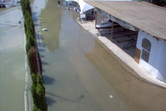 Prognoza alarmanta: Dunarea ar putea ajunge la 757 centimetri!
