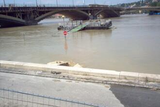 Dunarea face ravagii in Ungaria! Galerie foto