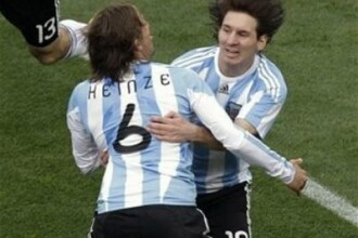 Argentina - Nigeria, scor 1-0, in grupa B la Cupa Mondiala